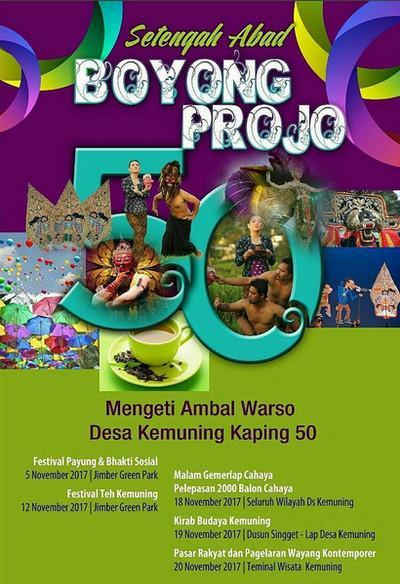 Boyong Projo Festival Anniversary