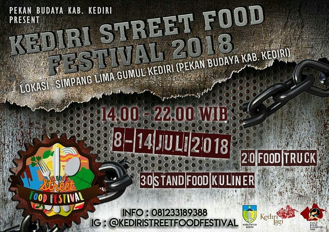 Kediri Street Food Festival 2018