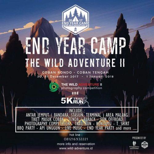 The Wild Adventure 2 Trail Run 5K & End Year Camp