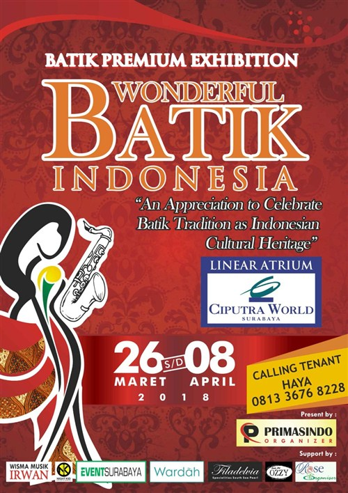 Batik Premium Exhibition: WONDERFUL BATIK INDONESIA