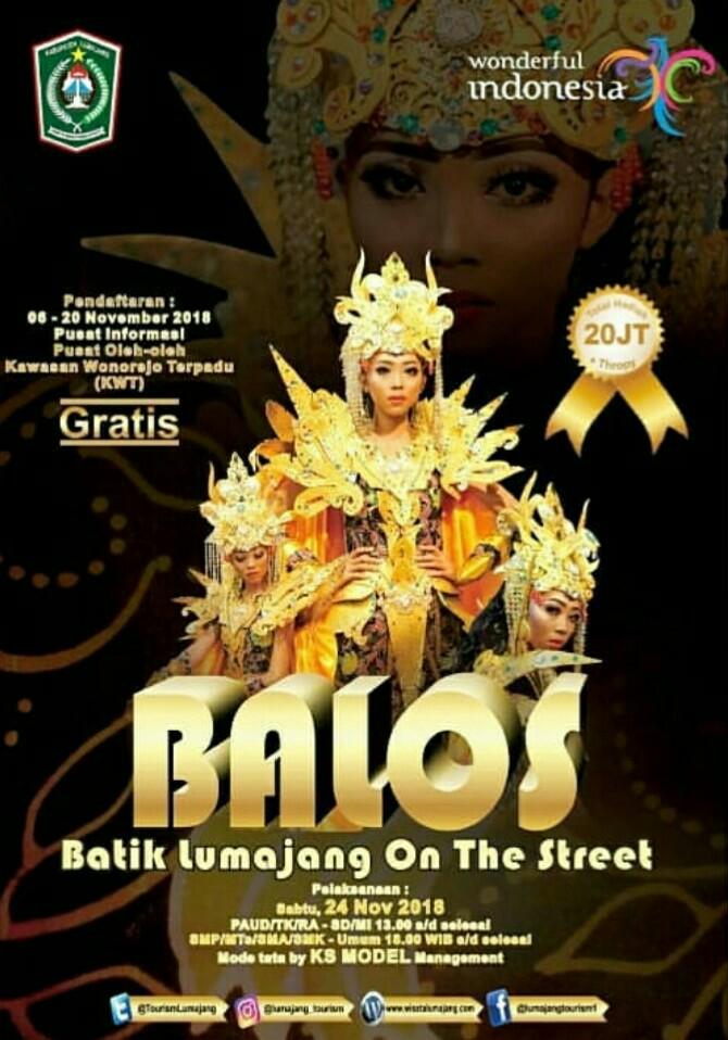 Batik Lumajang On the Street (BALOS) 2018