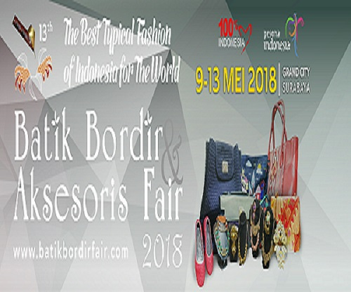 Batik Embroidery & Accessories Fair 2018
