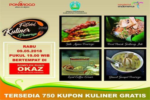 Festival Kuliner Khas Ponorogo (Ponorogo Culinary Festival)